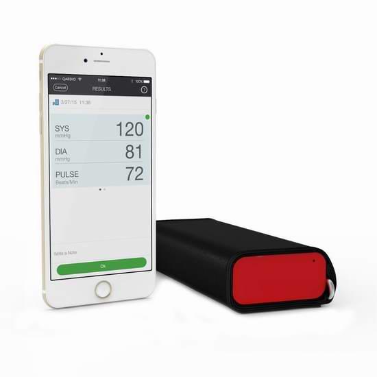 历史新低!QardioArm 无线智能血压计5.5折 79.99加元包邮!2色可选!