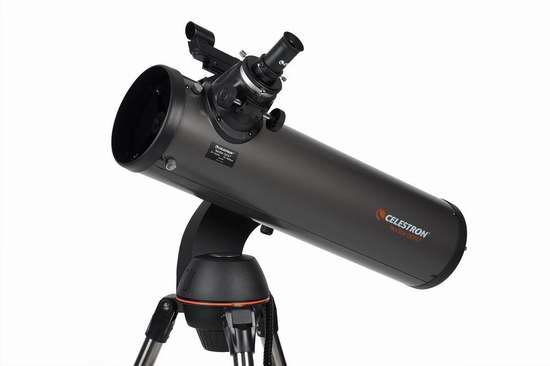金盒头条:历史新低!Celestron 星特朗 NexStar 130 SLT 自动寻星系列 星体定位 牛顿反射式天文望远镜 449.99加元包邮!