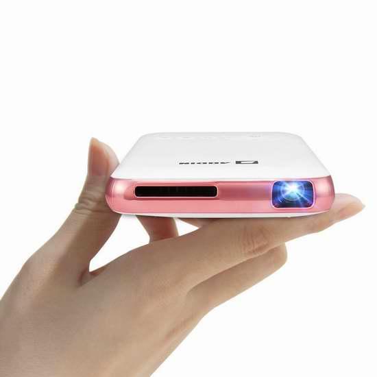 Aodin 迷你超便携 WiFi无线投影仪/家庭影院 234.99加元限量特卖并包邮!