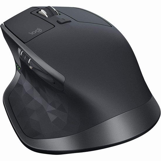 历史新低!Logitech 罗技 MX Master 2S 蓝牙鼠标 59.99加元包邮!