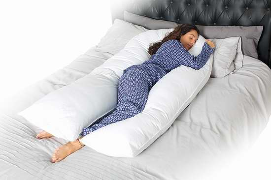 Queen Rose 纯棉U型身体支撑枕/孕妇身体枕 67.99-71.56加元限量特卖并包邮!两款可选!