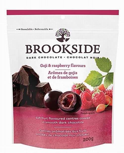 加拿大品牌!精选 3款Brookside 水果味 黑巧克力夹心 2.99加元,原价 4.86加元