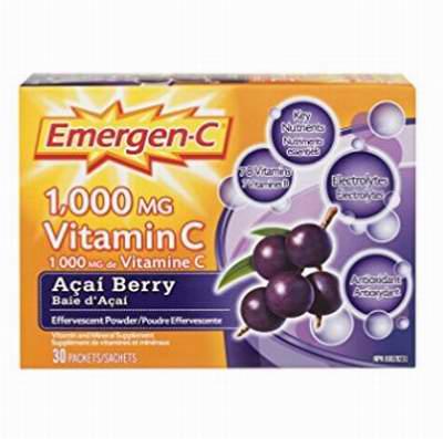 增加机体抵抗力! Emergen-C 维他命C冲剂 6.97加元!多种味道可选!