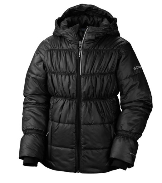 Columbia Shimmer Me II 女童防风保暖外套 54.99加元,原价 109.99加元