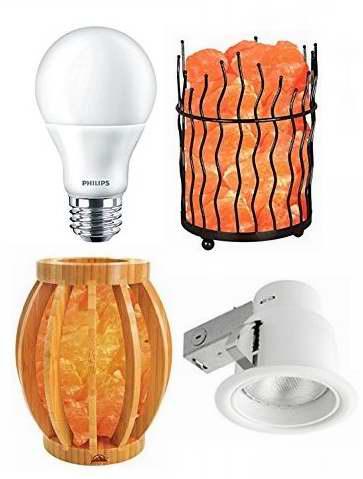 金盒头条:精选多款 Philips、WBM 等品牌节能灯、嵌入式灯具、吊灯、喜马拉雅水晶盐灯、开关等3.8折起!