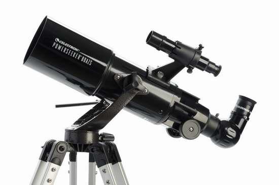 历史新低!Celestron 星特朗 21087 PowerSeeker 80AZS 天文望远镜 114.99加元包邮!