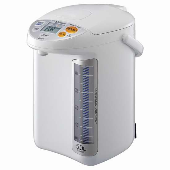 历史新低!Zojirushi 象印 CD-LFC50 5升 微电脑智能热水壶 190.98加元包邮!