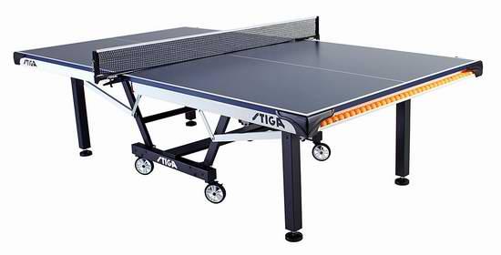 历史新低!Stiga T8524 STS 420 锦标赛系列 折叠式乒乓球桌4.7折 676.41加元包邮