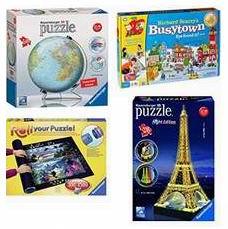 金盒头条:精选36款 Ravensburger 益智拼图及儿童游戏玩具套装4折起!售价低至9.99加元!