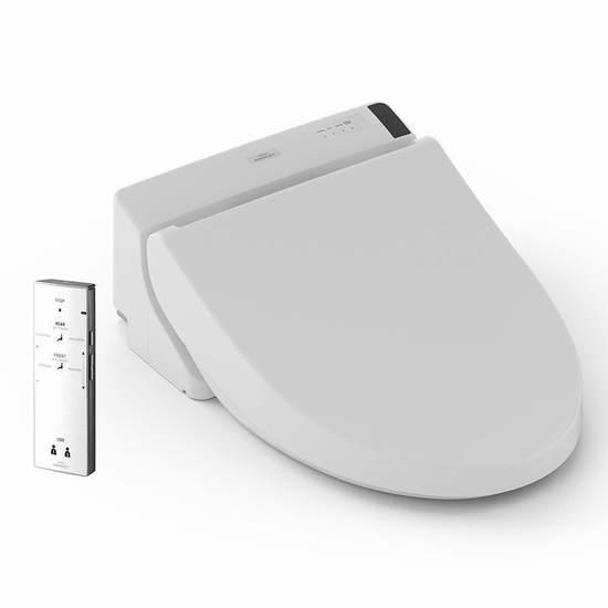 历史新低!TOTO SW2024#01 Washlet A200 遥控 智能马桶盖(长形) 369.99加元包邮!