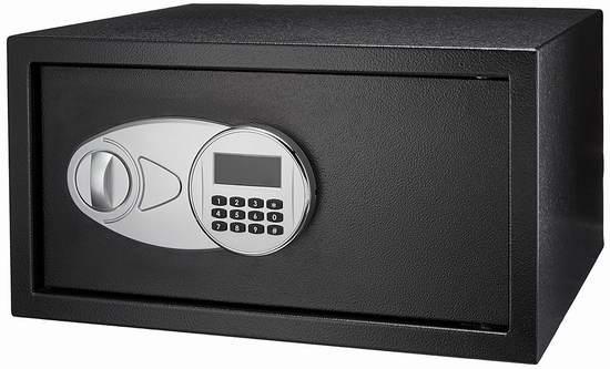 历史新低!AmazonBasics Security Safe 1 cu.ft. 电子密码保险箱 68.99加元包邮!