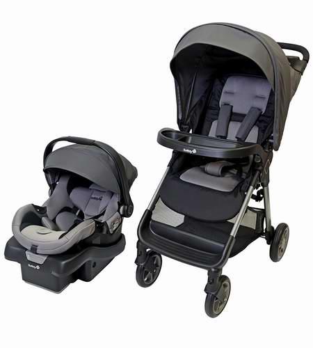 Safety 1st 01292CEEL Smooth Ride LX 婴儿推车+提篮套装 229.97加元包邮!4色可选!