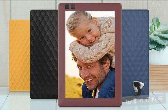金盒头条:Nixplay Seed 7/8/10寸 WiFi无线云电子相框 88.79-149加元包邮!4色可选!