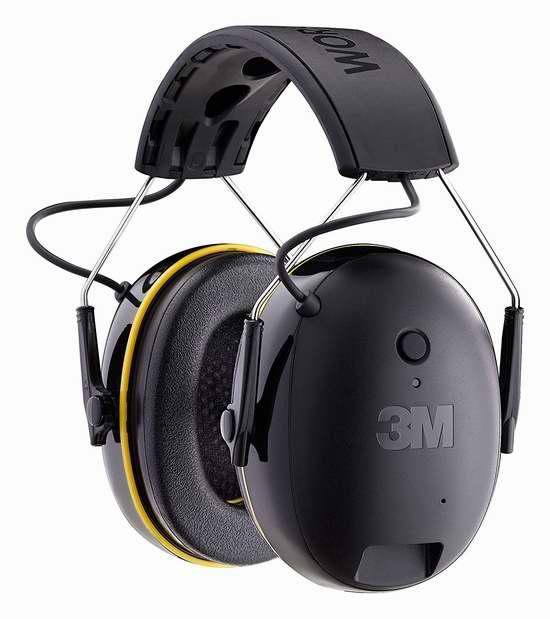 金盒头条:历史新低!3M Worktunes Connect 无线蓝牙降噪隔音耳机6.2折 51.99加元包邮!