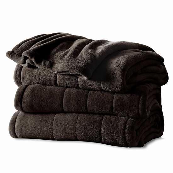 历史新低!Sunbeam Fleece 保暖电热毯4.2折 46.52加元包邮!
