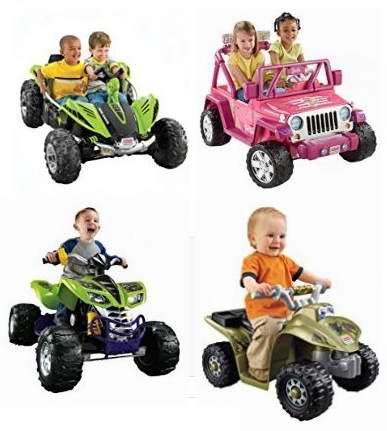黑五专享!精选16款 Fisher-Price 费雪 Power Wheels 儿童电动车5.5折起!售价低至59加元!