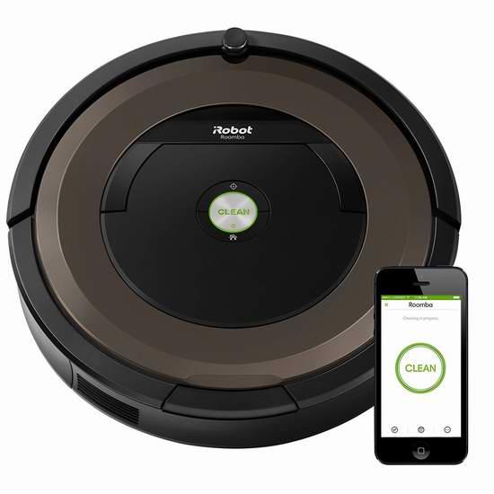 历史新低!iRobot Roomba 890 Wi-Fi 智能扫地机器人 449.99加元包邮!