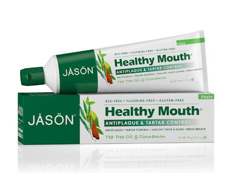 Jason Healthy Mouth 茶树抗菌保健牙膏 5.16加元+包邮!
