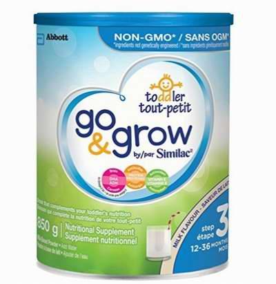 Similac Go & grow非转基因奶粉 18.98加元,原价 25.96加元