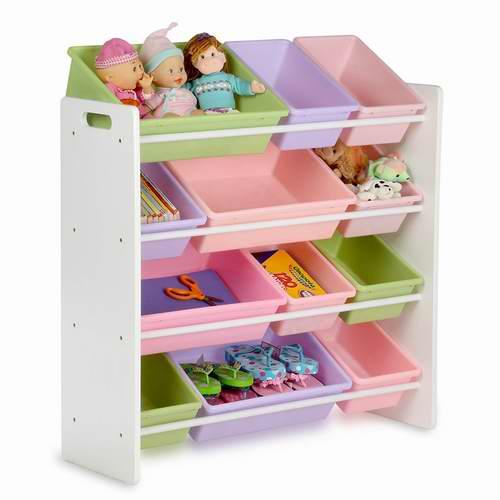Honey-Can-Do 大型儿童玩具收纳架 78.2加元,原价 126.49加元,包邮