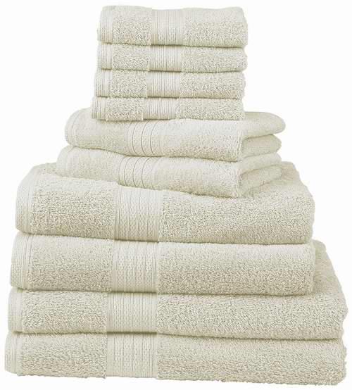 历史新低! Divatex 540 GSM 豪华浴巾毛巾12件套 35.99加元,原价 112加元,包邮
