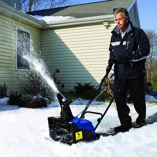 Snow Joe SJ620 13.5安 18英寸电动铲雪机 176加元包邮!雪暴铲雪必备!