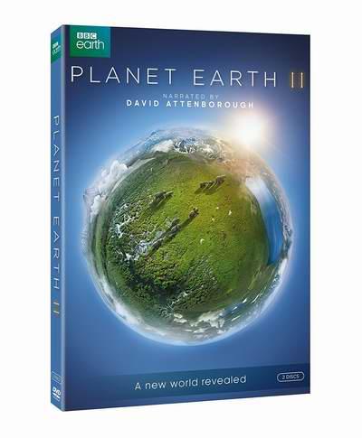 BBC《Planet Earth II 行星地球2》DVD全集 16.99加元!