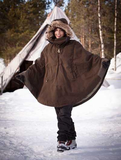 历史新低!Fjallraven 瑞典北极狐 Luhkka 女式抗风防水保暖斗篷外套(S码)4.9折 196.79加元包邮!