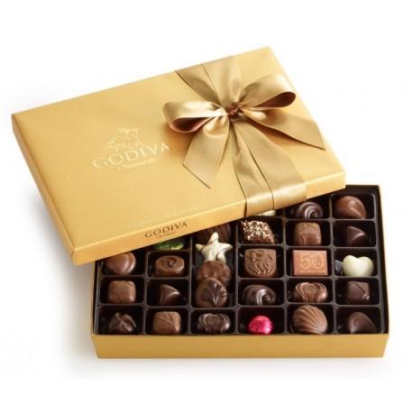 精选150款 Godiva 歌帝梵、Ferrero 费列罗、Lindt 瑞士莲 等品牌巧克力、干杂食品礼盒等6折起!额外9折!
