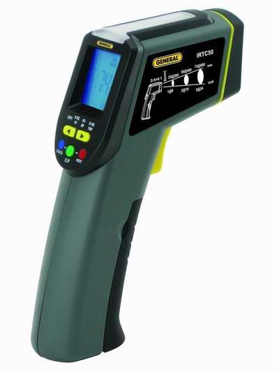 白菜价!历史新低!General Tools IRTC50 数字激光红外测温仪1.1折 17.11加元!