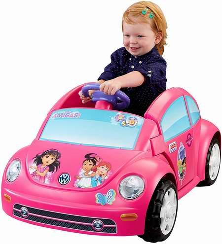历史新低!Fisher-Price 费雪 朵拉和她的朋友们 儿童电动车5.6折 127.14加元包邮!