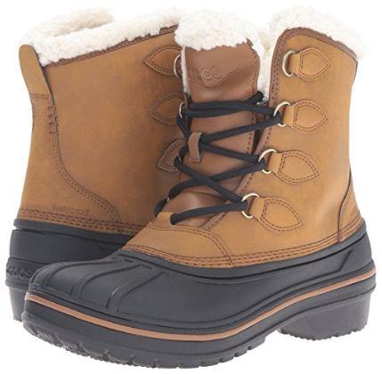 白菜价!Crocs AllCast II 女式雪地靴2.8折 34.07加元(6码),原价 119.99加元