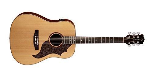 历史新低!Luna AM T100 Americana Cutaway Acoustic 电吉他2.4折 176.9加元包邮!
