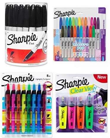 金盒头条:精选8款 Sharpie 锐意 马克笔、彩色标记笔、荧光笔等3.2折起!售价低至7.98加元!
