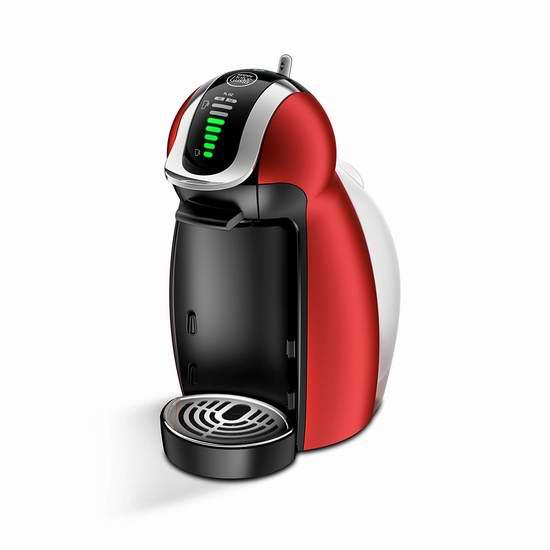 历史新低!NESCAFE DOLCE GUSTO 12350927 Genio 2 XXL 全自动胶囊咖啡机3.8折 49.99加元包邮!两色可选!
