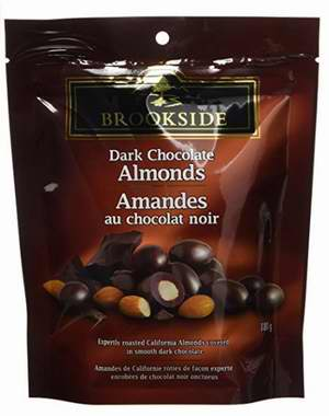 加拿大品牌!精选 4款Brookside 水果味 黑巧克力夹心 2.99加元,原价 4.86加元