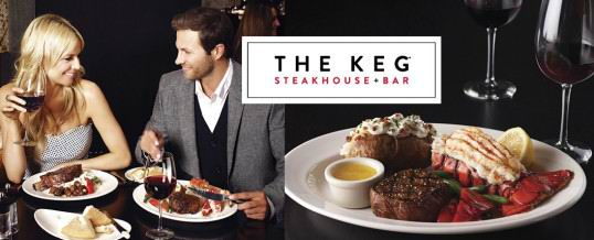 The Keg Steakhouse & Bar 加拿大连锁牛排餐厅 买200加元礼品卡,送25加元礼品卡!