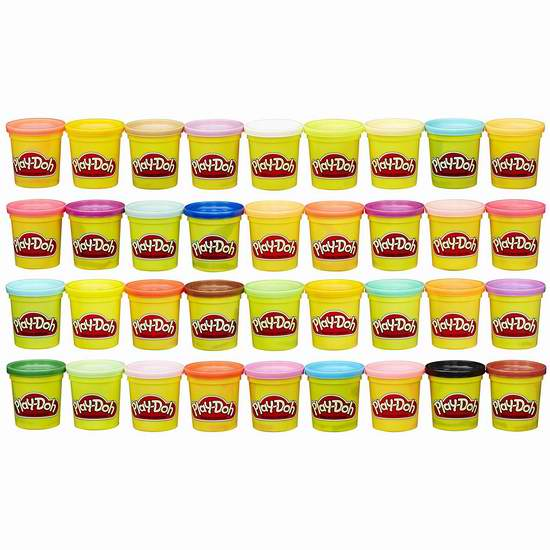 历史新低!Play-Doh 培乐多 橡皮彩泥36色超值装4.2折 19.96加元!