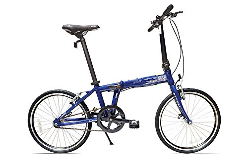 Allen Sports Urban Aluminum 便携式轻质折叠自行车3.6折 282.98加元包邮!