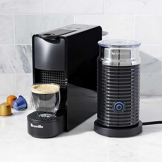 历史最低价!Nespressso Essenza 迷你胶囊咖啡机+奶泡机套装 149.99加元包邮!