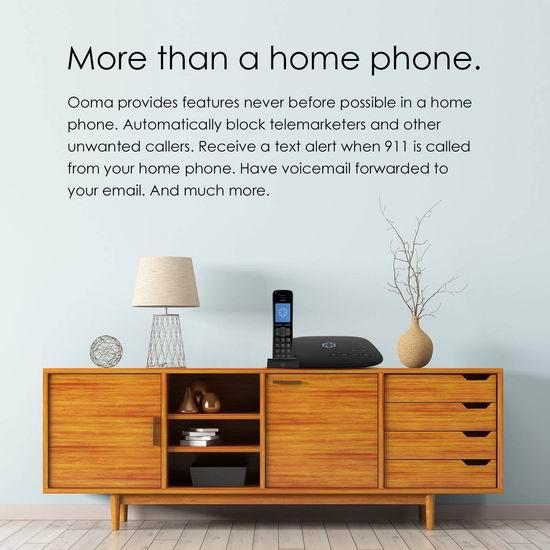 Ooma Telo 家庭VoIP网络电话盒子 99.98加元包邮!
