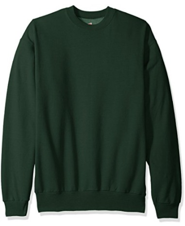 Hanes 恒适 Ecosmart 男式纯色长袖卫衣 12.99加元起!多色可选!