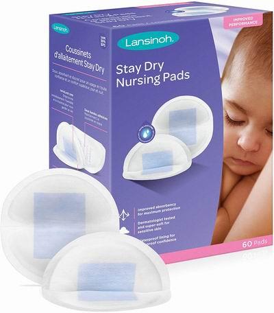 Lansinoh Disposable Nursing一次性防溢乳垫 60片 9.47加元