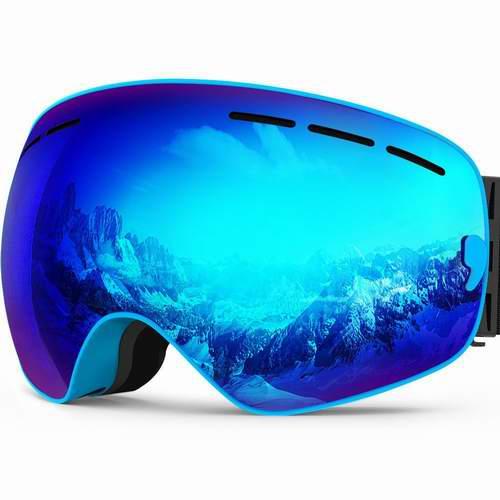 IceHacker X 可拆卸镜片防紫外线防雾滑雪护目镜 39.99加元限量特卖,原价 64.99加元,包邮
