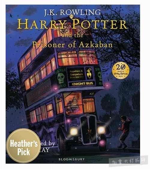 精选 Harry Potter 哈利波特系列书籍 5.7折起特卖!