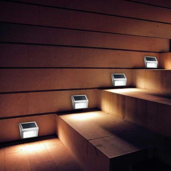 VicTsing 3 LED  太阳能户外感应灯2件套 12.99加元清仓!