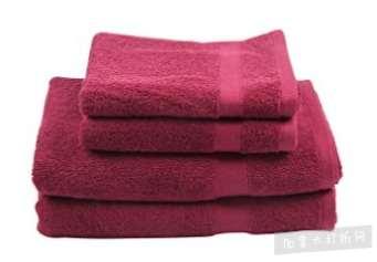 白菜价!历史新低!Winthome 100%纯棉 豪华浴巾+毛巾4件套2.6折 8.98加元清仓!4色可选!