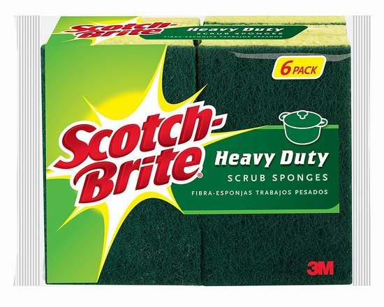 历史新低!3M Scotch-Brite 强效海绵百洁布6片装 5.34加元!