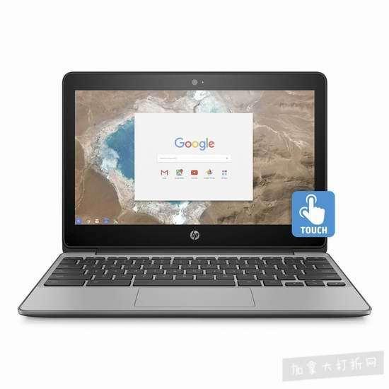 历史新低!HP 惠普 Chromebook 11.6英寸谷歌笔记本电脑6.2折 249.58加元包邮!