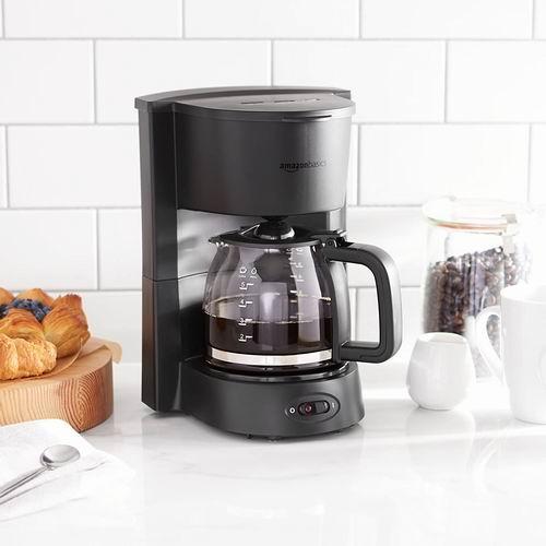 AmazonBasics 5杯量 滴滤式咖啡机  20.29加元